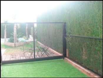 Vallas metalicas de jardin top latest affordable for Vallas jardin ikea